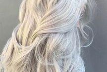 Platinblondes Haar / blond, blonder, platinblond