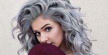 Granny Hair / Graues Haar ist wunderbar, besonders, wenn es mit Hilfe von Olaplex gestärkt und geschützt wird.