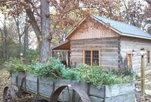 Cabins.... / by Gail Napoliton Wilson
