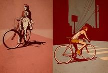 Ride my bike / Bicycles - Bicycle Art - Bicycling  / by Kevin & Robin -