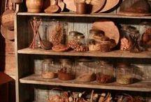 primitive pantry..... / by Gail Napoliton Wilson