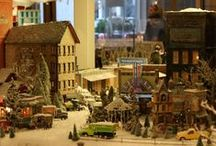 Christmas Villages... / by Gail Napoliton Wilson