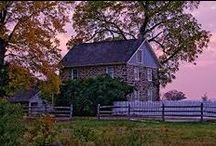 Early Homes~ / by Gail Napoliton Wilson