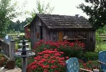 Garden Sheds~ / by Gail Napoliton Wilson