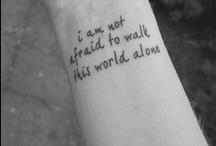 Tattoos / by Katrina Stephansen