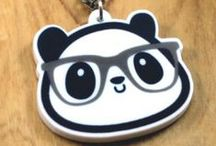 Panduhmonium! / Panduhmonium, est. March, 1st 2009, features the artwork of Miranda Delphia which mostly involves pandas, cute food, and other kawaii objects. Influenced mainly by Japan, anime, gaming, and kawaii culture.