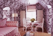 Toile / and other scenic print or woven fabrics