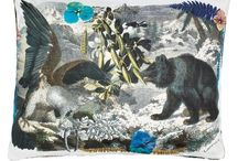 I Like These Guys / Animals, insects, birds - in print, painting, fabric