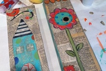Crafty Women- Wall Ideas / by Cindy Page