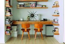 WorkSpace / Office Inspiration - Organization - Home Office  / by Kevin & Robin -