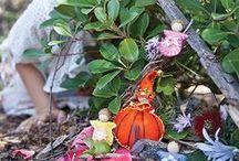 Fairy Gardens & Gnome Homes / Inspiring gardens, homes, and villages for little folk
