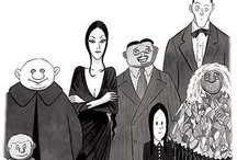 Addams Family: Cartoons / by Little Gothic Horrors