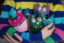 Crafted Forest Fairy Crafts / Lovely little crafts inspired by our book and tutorials
