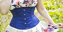 Steel Boned Underbust Corsets from Orchard Corset / Beautiful assortment of steel boned underbust corsets from Orchard Corset!