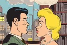 Pop Art Imagery [Comics] /  Comic Strips - Comic Books - Graphic Novels - Webcomics - Onomatopoeia - Pop Art - Roy Lichtenstein / by Kevin & Robin -