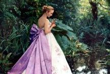 Alternative wedding dresses in PINKS and PURPLES