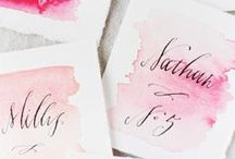 : {Pen & Paper} : / Little notes to say a whole lotta things. Love these darling designs. / by Kate Ladd