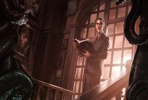 Writers: H. P. Lovecraft / by Little Gothic Horrors