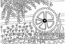 Coloring Club / Inspiration and ideas for adult coloring and the awesome Nevada County Coloring Club