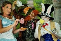 Orchard Corset In Wonderland / Alice in Wonderland themed photoshoot to correspond with a fun Wonderland contest we did back in 2014!