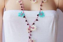 Crochet bracelets/necklaces