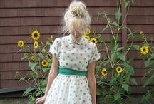 Clothes / Vintage Modern Clothing for the girl next door.