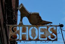 Crazy Crazy Shoes~ / Different styles of crazy looking shoes... Only the brave ware :) / by Mindy Beer~