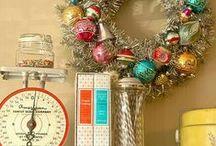 Christmas Cheer / Vintage Modern Christmas Ideas.