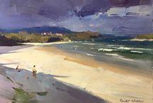Landscape/Seascape / by Sarah Lytle Art