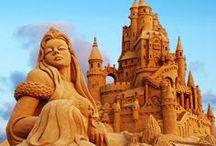 Statues & Sand Sculptures~ / Glorious Art.. / by Karen Liana Carney