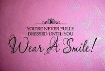 Smiles~ / Everyones needs one.. / by Karen Liana Carney