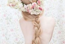 Braids~ / How mom wore her hair as a child.. / by Karen Liana Carney
