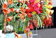 Party - flowers power / anniversaire fleuri