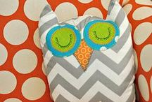 Baby and Nursery Ideas / I've decided on turquoise, orange, grey, and navy for the nursery. :)
