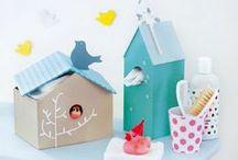 DiY - en carton / bricoles et bricolages en carton