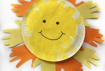 Summer Crafts and Activities For Kids / The most fun summer crafts and activities for toddlers, preschool and older kids. Outdoor play ideas, sea crafts, sun, watermelons, sensory play and so much more!