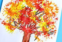 Autumn, Fall and Halloween Crafts and Activities / Ideas, inspiration and tutorials for autumn, fall and Halloween crafts and things to make and do!