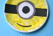 Paper Plate Crafts / Low cost and easy crafts for kids, get inspired with these fun paper plate crafts!