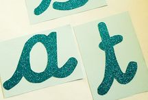Letters and Literacy / Cool ideas for teaching the alphabet and spelling. Making learning fun!