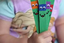 Cool Crafts and Activities for Kids / The most cool crafts and activities for kids. Simple achievable ideas from birth upwards.