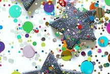 New Years Eve crafts and activities for kids / Fun crafts and activities for kids for New Years Eve.