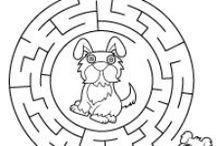 Labirynty / Wybierz właściwą drogę aby przejść labirynt i dotrzeć do określonego celu!