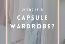 capsule wardrobe. her. / examples of how to build a capsule wardrobe and work the key pieces you probably already own.