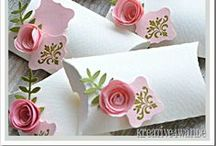 Gifts wrapping / Cute and easy gift wrapping ideas, box patterns and packaging inspiration