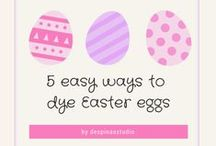 Easter crafts and decor / Easter crafts,decor,candles and polymer clay creations