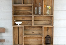 DIY Crates... / by Julie Sturtevant