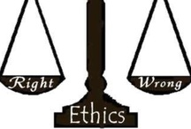 "Ethics / ""A man without ethics is a wild beast loosed upon this world."" - Albert Camus"