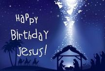 """Christmas / Luke 2:11 For unto you is born this day in the city of David a Savior, who is Christ the Lord.    John 3:16-17 """"For God so loved the world, that he gave his only Son, that whoever believes in him should not perish but have eternal life. For God did not send his Son into the world to condemn the world, but in order that the world might be saved through him. / by txtea"""