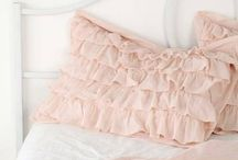 Sewing pillows and interor