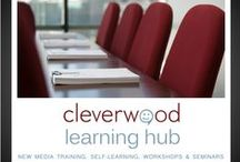 Cleverwood Learning Hub / For an absolute mastery of your new media skills, there is no better option than one of our experts guiding you through every possible tip, trick, pitfall and opportunity. Sharing their experiences with you, you'll grow your own vision and improve your own ideas and strategies.  Progress is no coincidence. It's about creating the right circumstances for things to happen your way.